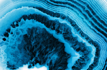 blue agate macro background