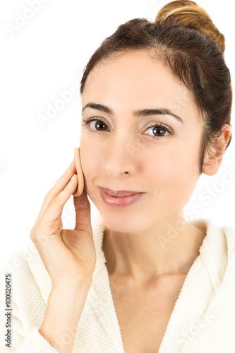 Fotografie, Obraz  Make up woman close up