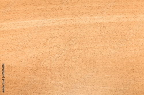 Beech wood pattern. Background photo texture Fototapet