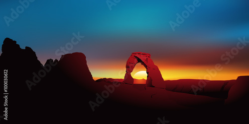 Foto Paysage Sandstone Arch