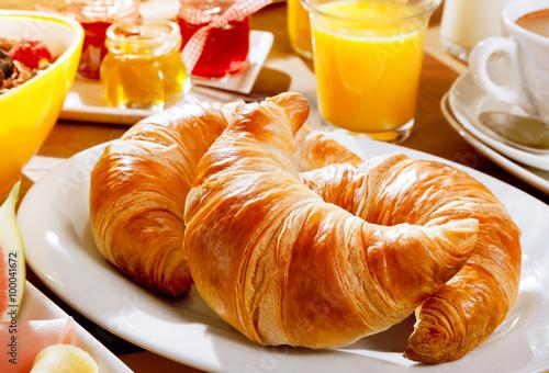 Fotografie, Obraz  Delicious continental breakfast