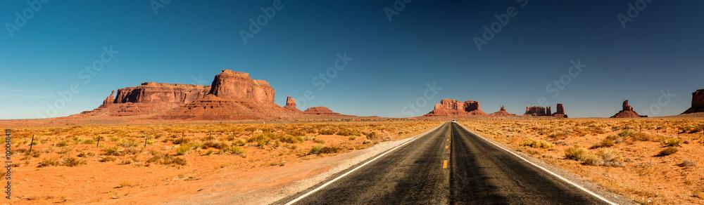 Fototapeta Road to Monument valley, Arizona