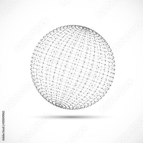 Fotografía  3D sphere