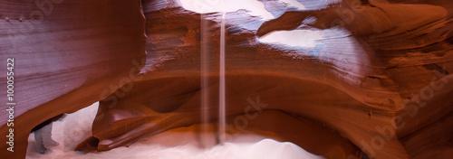 Fotobehang Rood paars Antelope Canyon, Utah