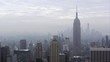 Static view of the Manhattan Skyline.