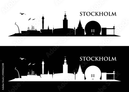 Photo  Stockholm skyline