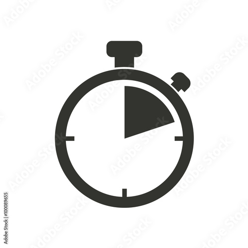 Stopwatch - vector icon.