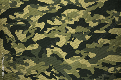 Fotografía  Military Camouflage texture background
