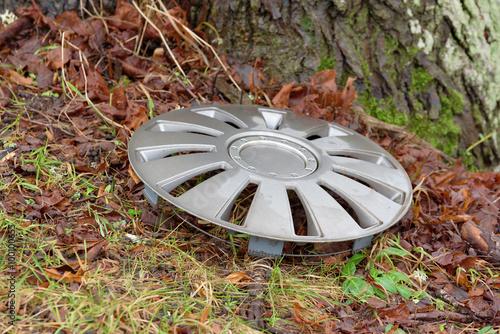 Fotografie, Obraz  Lost hubcap