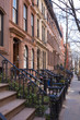 Historic district of West Village, New York.