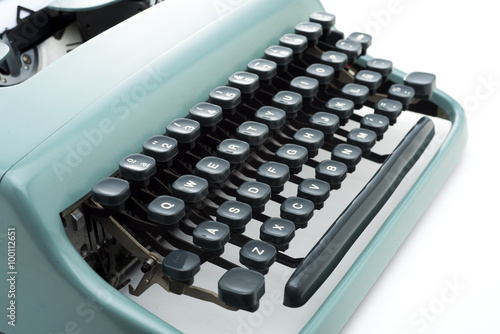 retro typewrite keyboard Canvas-taulu