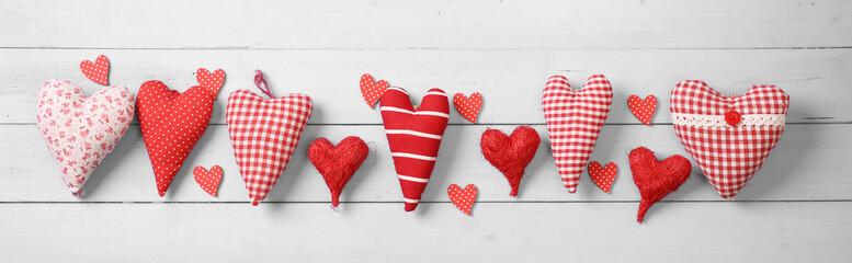 Fototapeta Hintergrund zum Valentinstag