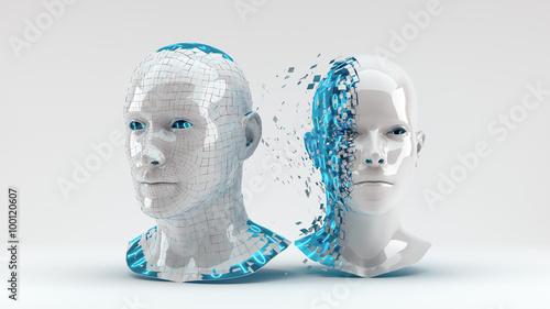 Fotografía  Digital Transformation - blue