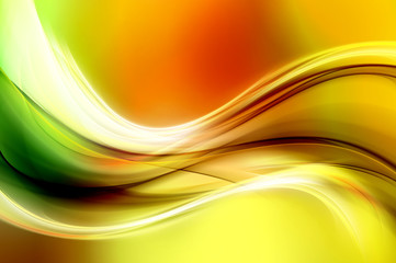 Panel SzklanyAbstract Colorful Wave Design Background