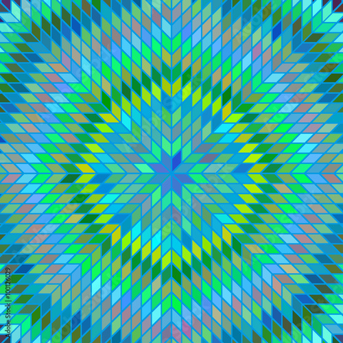 Spoed Foto op Canvas Psychedelic Variegated texture vector
