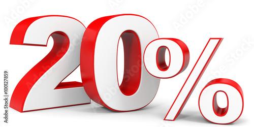Valokuva  Discount 20 percent off.