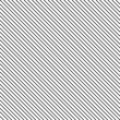 Diagonal stripe seamless pattern. Geometric classic black and white thin line background.