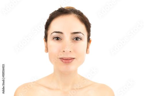 Fotografie, Obraz  Skincare woman portrait