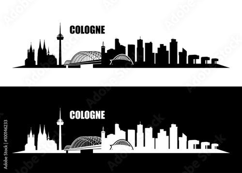 Obraz Cologne skyline - fototapety do salonu