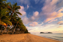 Palm Cove Beach With Double Is...