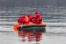 Sailors On A Lifeboat
