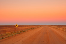 Evening In The Australian Outb...