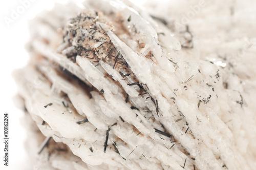 Fényképezés  albite mineral sample