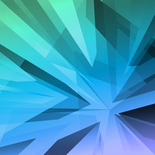 Sharp Shape Abstract Background Image, Vector Illustration