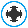 Directions Flat Icon