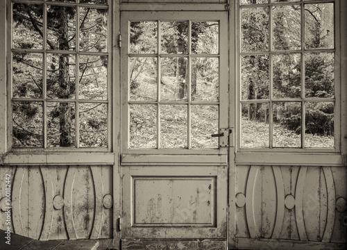 Photo  old winter garden