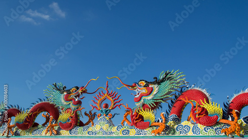 Photo  Chinese dragon