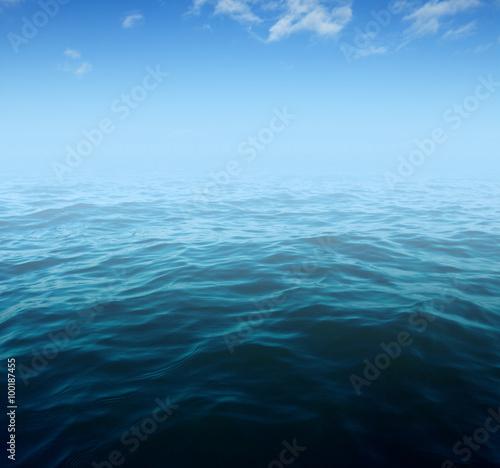 Foto op Plexiglas Zee / Oceaan Blue sea water