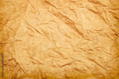 Fotografia, Obraz  Rough wrinkled paper texture background vintage style