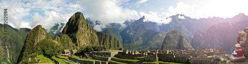Photo  Machu Picchu panoramic