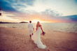 canvas print picture - Wedding in Thailand