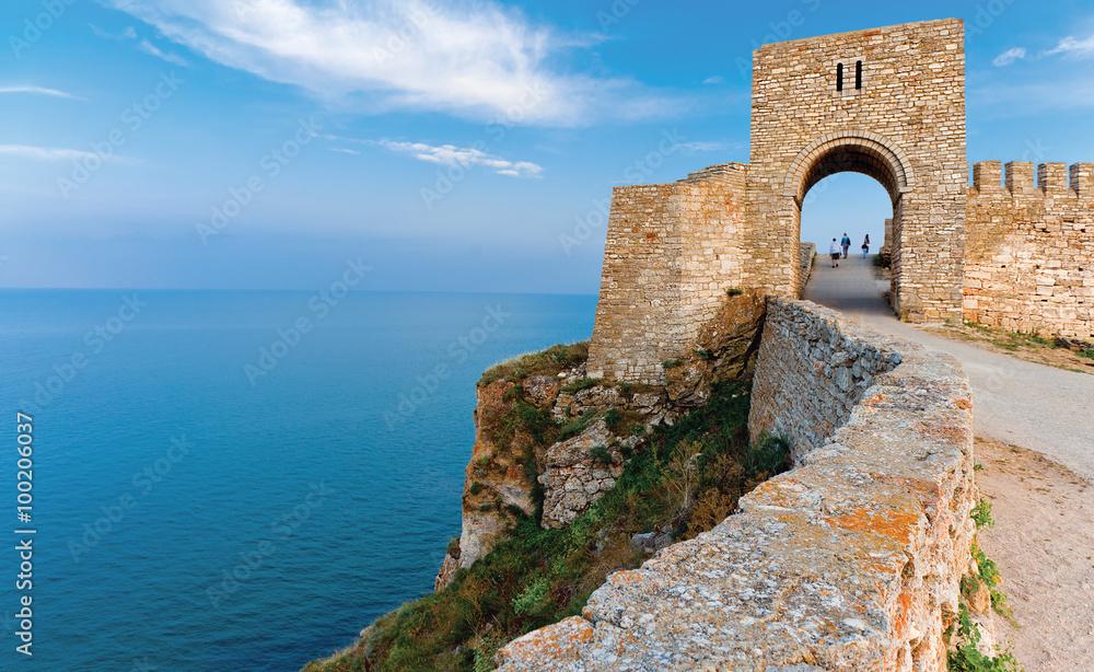 Fototapety, obrazy: Fortress Kaliakra Black sea Bulgaria
