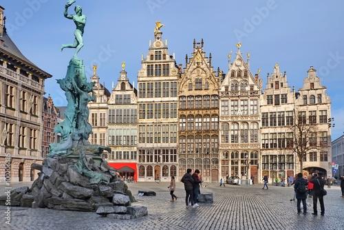 In de dag Antwerpen Antwerpen Großer Markt