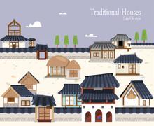 Korean Traditional Town