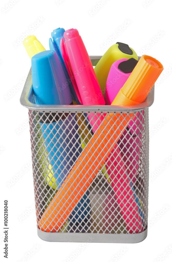 Valokuva  Color felt-tip pens