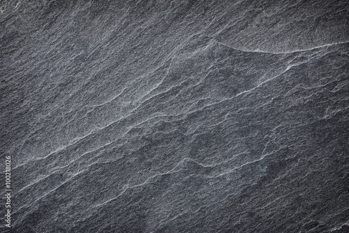 Cuadros en Lienzo black slate background or texture