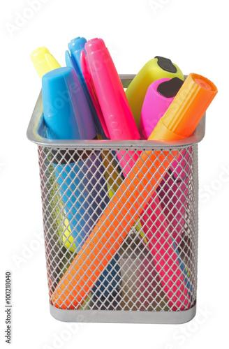 Valokuvatapetti Color felt-tip pens