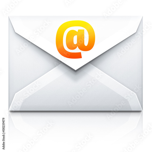 Fotografia, Obraz  Ikona poczty elektronicznej