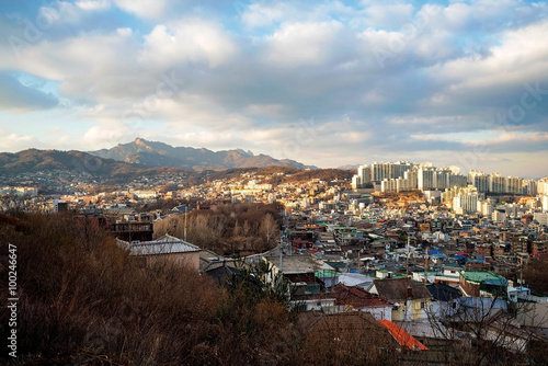 Seoul city and nature Poster