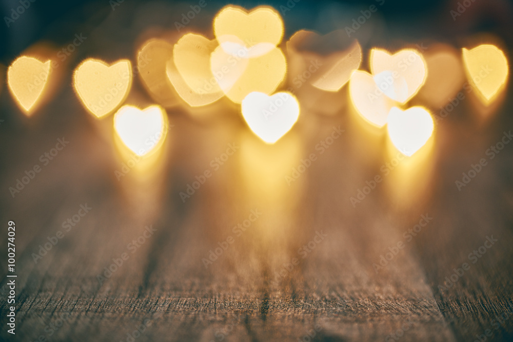 Fototapeta background with hearts