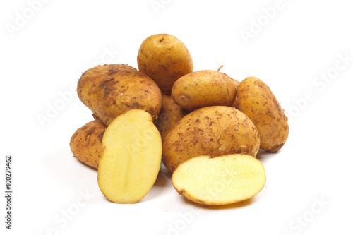Valokuva  Kartoffeln, Sorte Sieglinde Galatina
