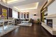 Interior of a bright living room