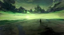 Landscape Of The Water. Sea Wa...