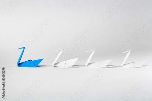 Fotografie, Obraz  Leadership concept.