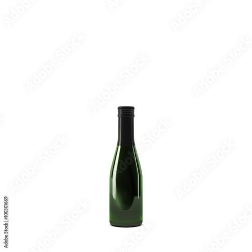 Fotografie, Obraz  small champagne bottle