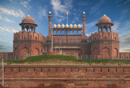 Cadres-photo bureau Delhi The Red Fort located in New Delhi, India.